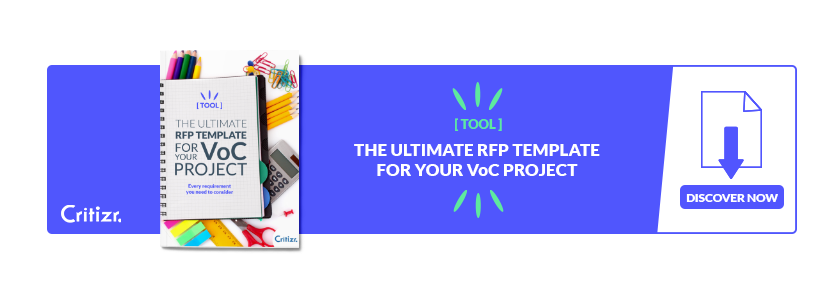 3 tips & 1 RFP template to structure your Customer Listening