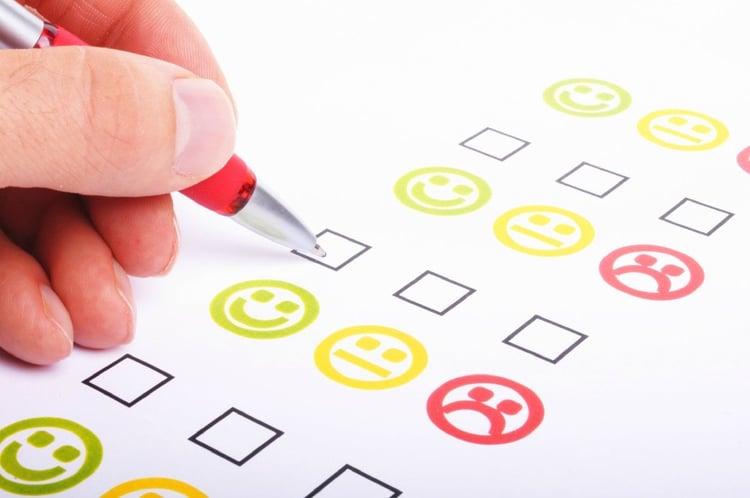 NPS, net promoter score collecte