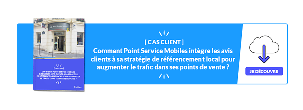 Cas client Point Service Mobiles