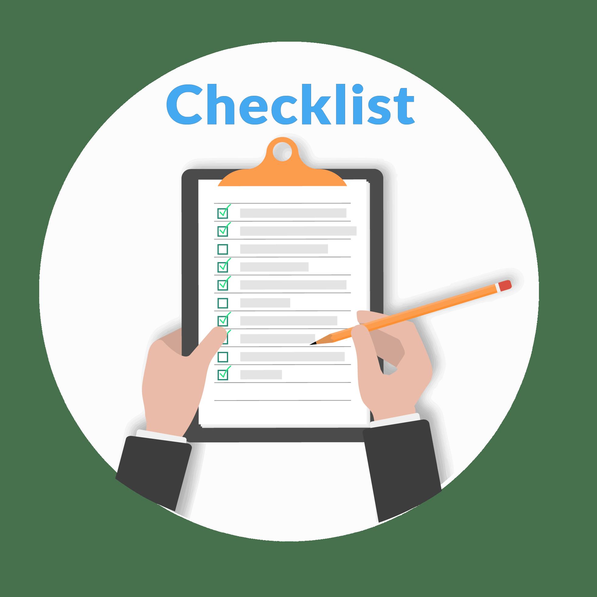 Checklist round