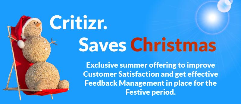 Critizr saves Christmas