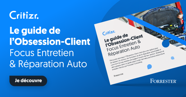 Ebook Critizr & Forrester : Focus Entretien et Réparation Auto