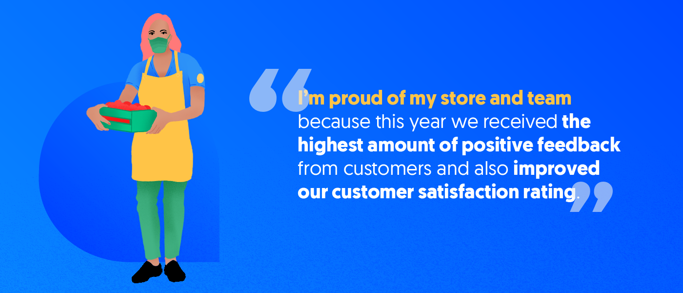 Proud of my store by critizr