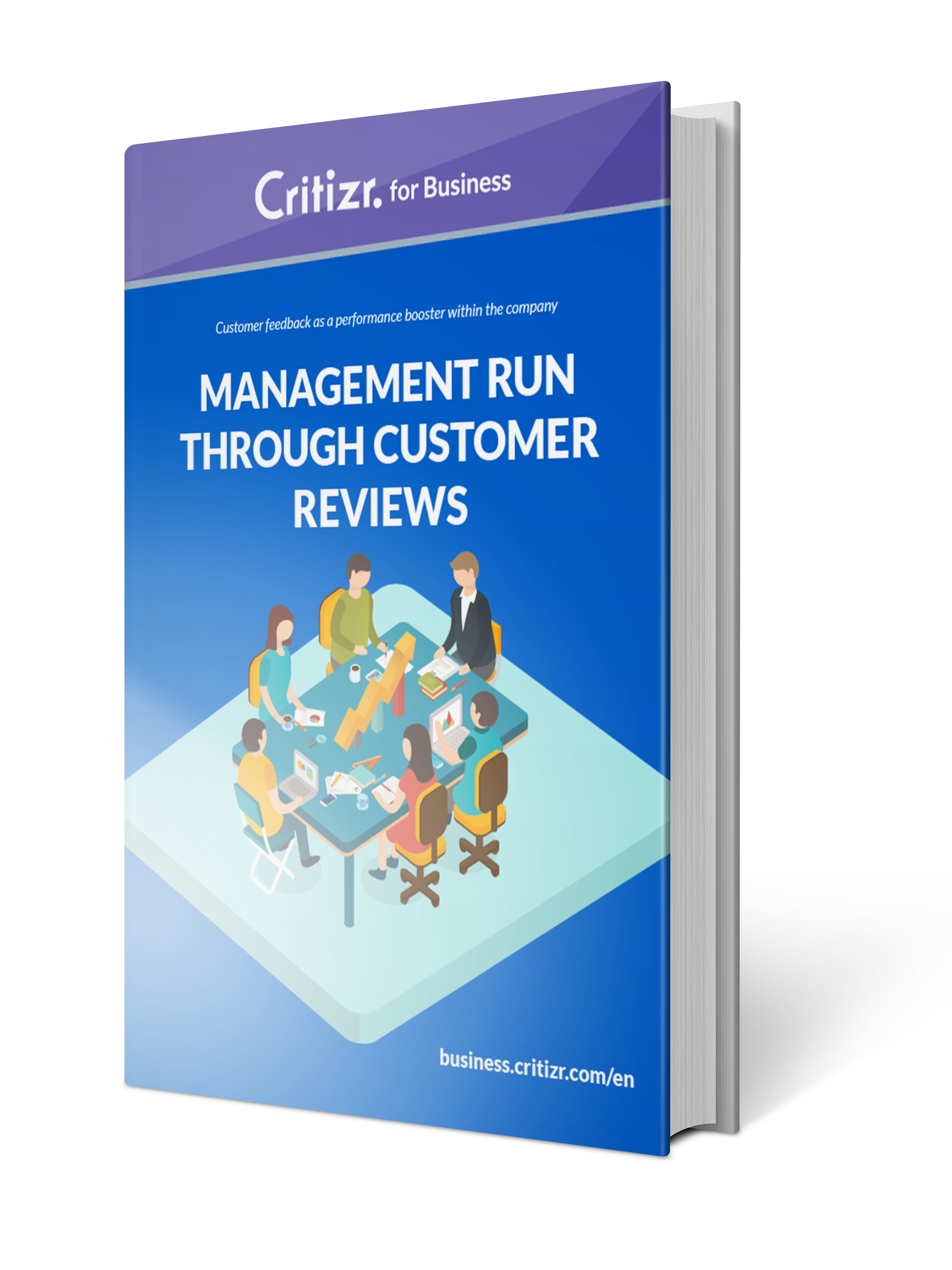 Ebook management with customer feedbacks