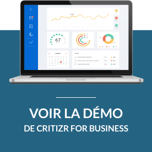 Critizr for Business vidéo démo