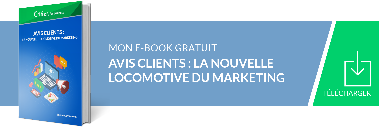Ebook Avis clients : La nouvelle locomotive du Marketing
