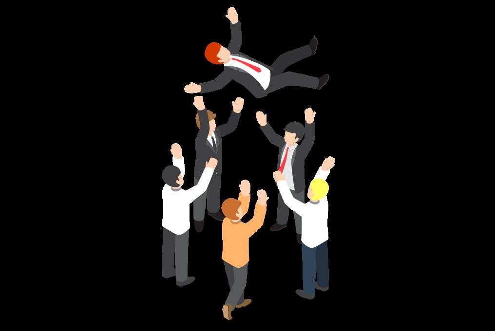Positives Management der Teams im Verkaufspunkt